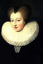 Catherine de Parthenay, vicomtesse de Rohan 1554-1631,  mère de Henri II, premier duc de Rohan.
