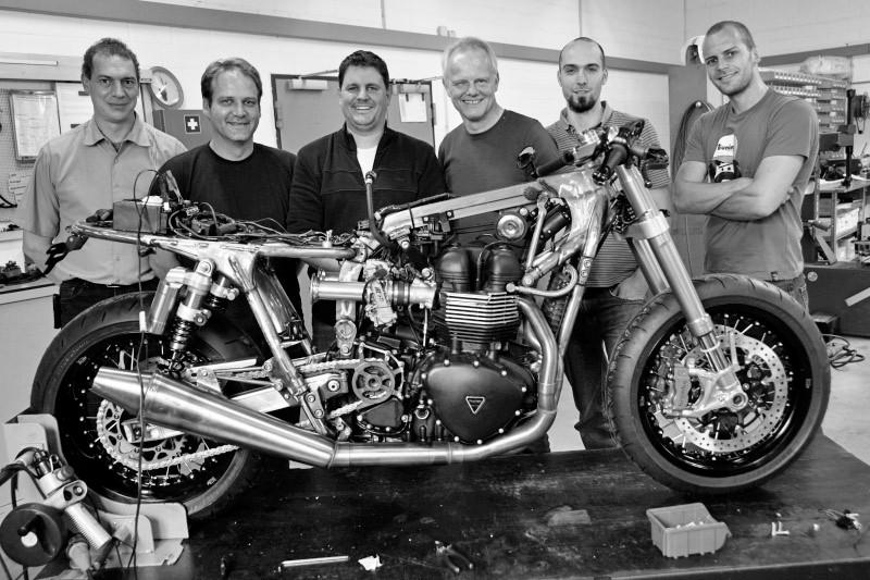 Tridays Eleven - Triumph Bonneville Cafe Racer