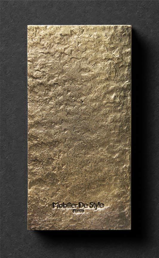 Finition 2 : Antique brushed wrought iron