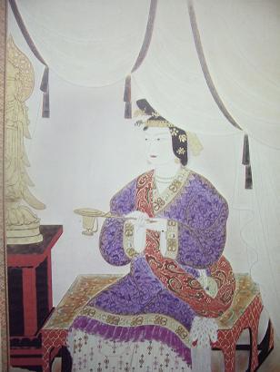 La emperatriz Suiko, Japón (554-628)-