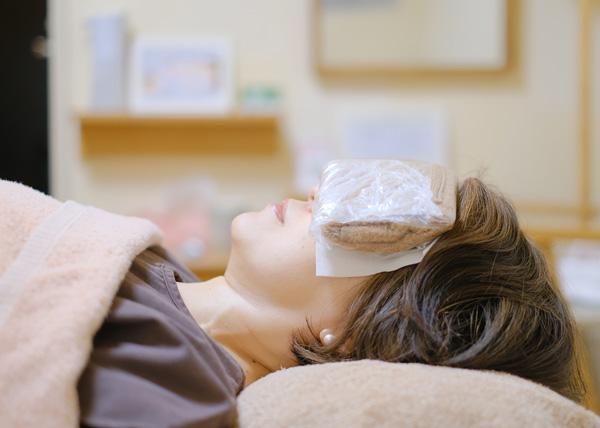 眼精疲労回復蒸しタオル