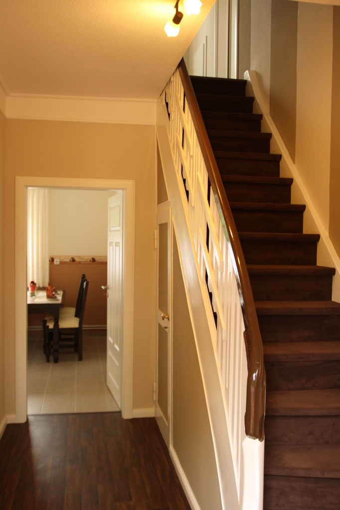 Treppe zum Obergeschosss