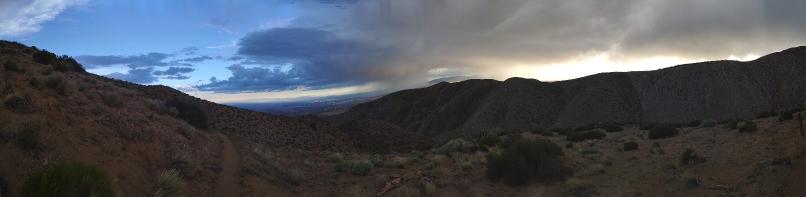 Panoramabildaufnahme