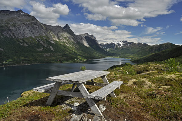 am Bjærangfjorden