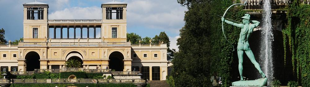 Potsdam Führungen Schloss Charlottenhof und Orangerie