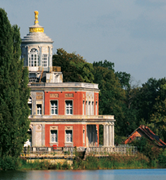 Das Märchenschloss am Heiligen See