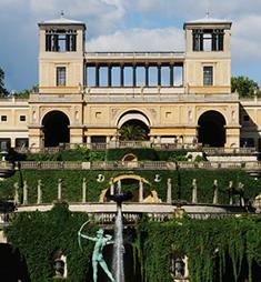 Schloss Charlottenhof und Orangerie