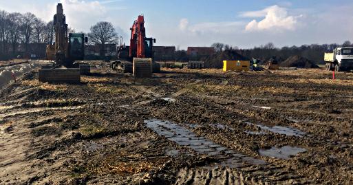 Aktuelles Baugebiet Münster Südost,  Foto: AG Planung des NABU Münster