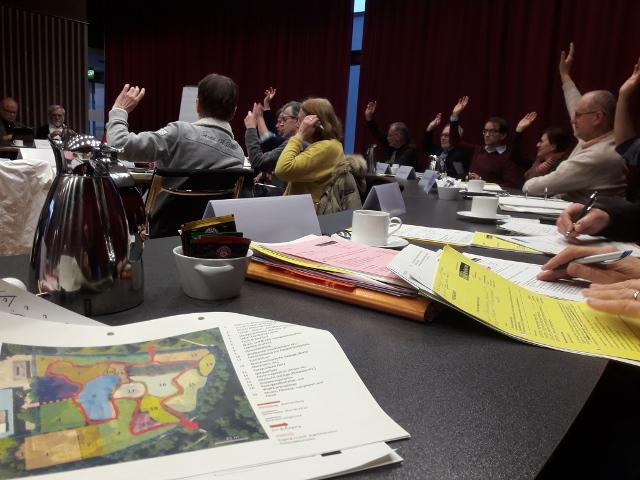 Die Mitglieder des Umweltausschuss Münster stimmten einstimmig der Vorlage zur Weiterentwicklung des Arzneipflanzengartens zu (Foto: Thomas Hövelmann)