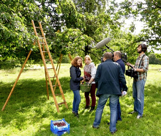Dreharbeiten zum WDR-Beitrag
