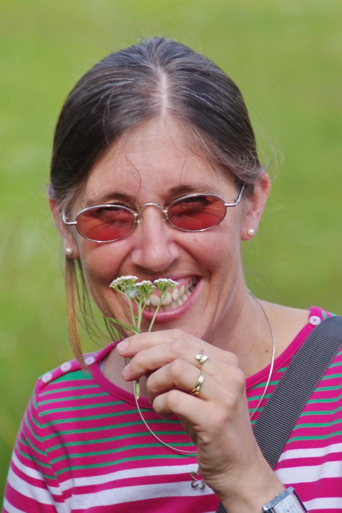 marike, eine wildkräuterbegeisterte