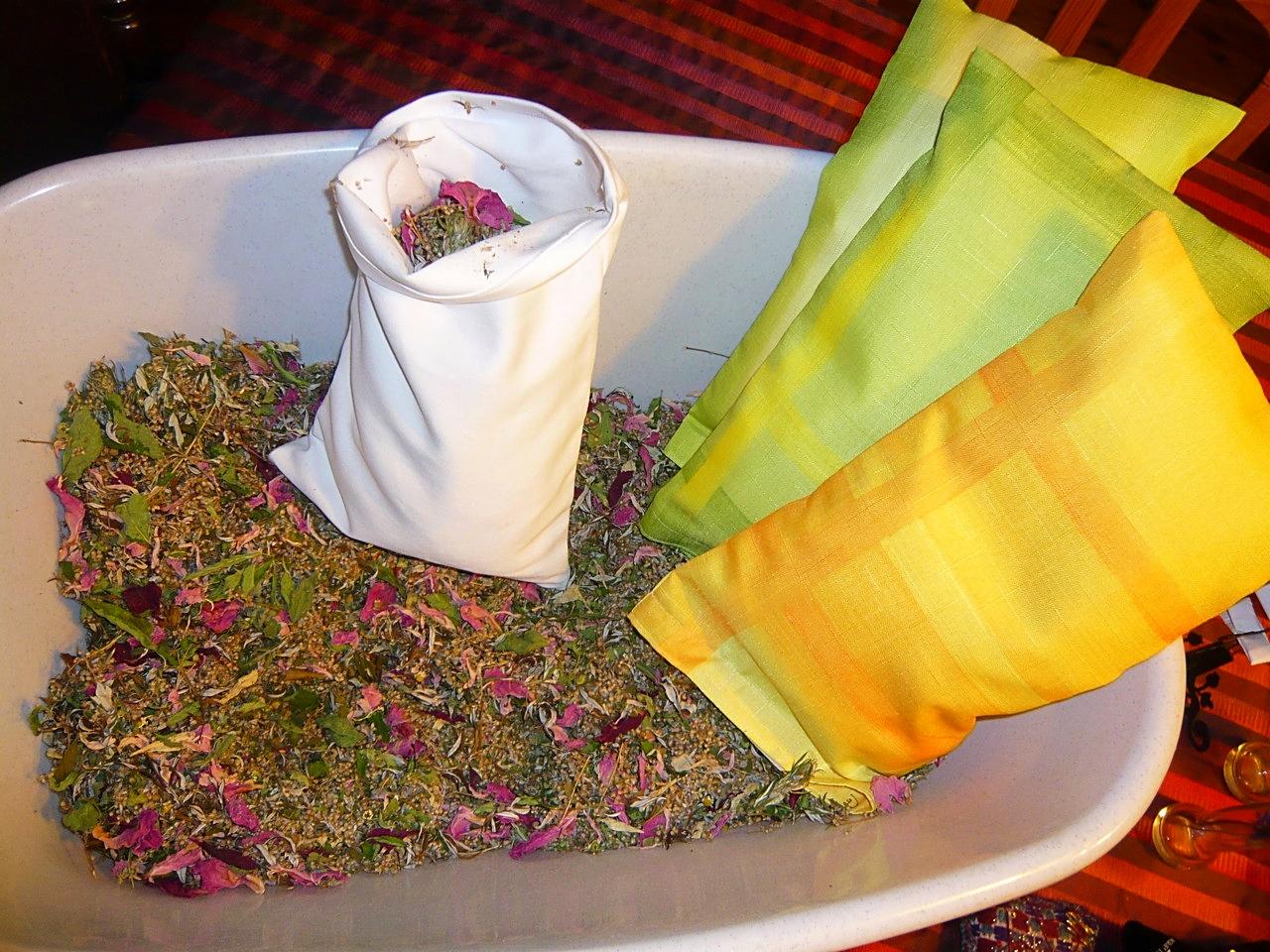 baumwollsäckchen und bunte überzüge, die man auswaschen kann!