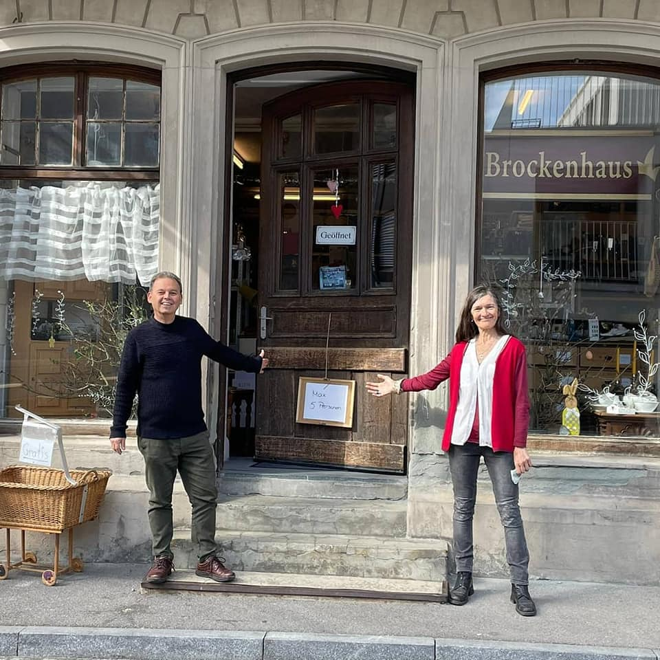 "SP Romanshorn - sozialer Flohmarkt ""Brockenhaus"""