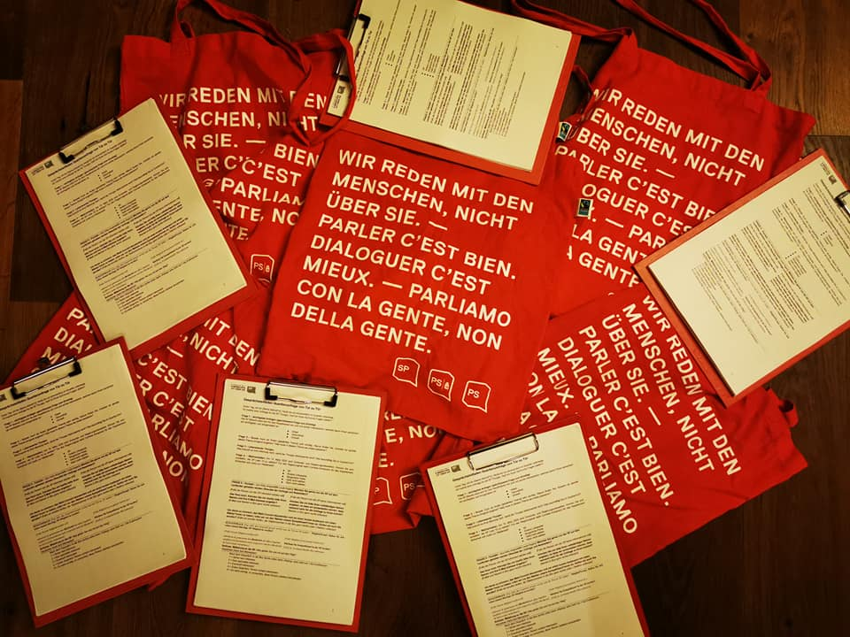 Kantonsratswahlen SP Liste 10 Thurgau Bezirk Arbon 15.03.2020