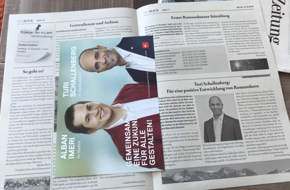 Wahlen 10. Februar 2019, Stadtpräsident, Stadtrat, RPK