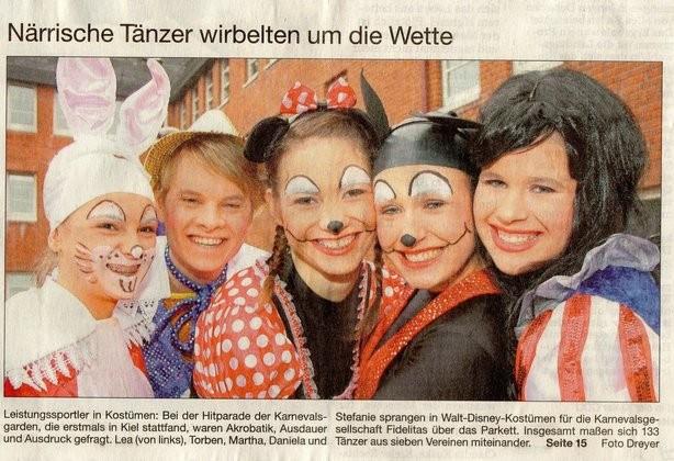 Kieler Nachrichten 08.12.2012