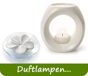 Primavera Duftlampen, Aromastream und Duftsteine