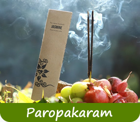 Räucherstäbchen von Paropakaram