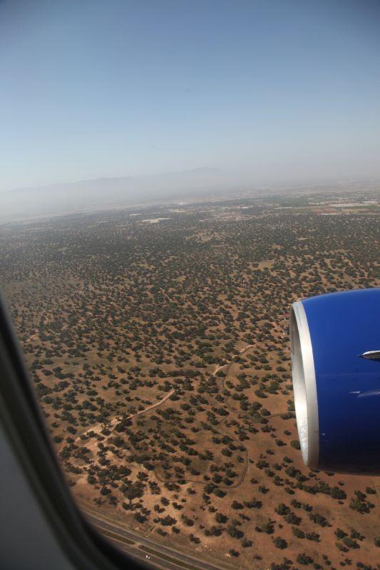 Anflug Agadir.