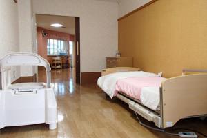 ▲ユニット型(個室)の居室
