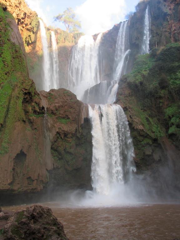 Die größten Wasserfälle Nordafrikas