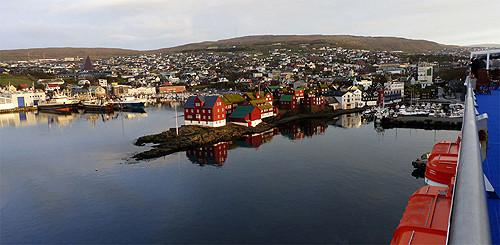 Zwischenstopp im Hafen von Tórshavn auf den Färöer Inseln