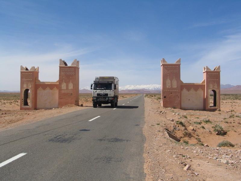 Auf der Strasse der Kasbahs