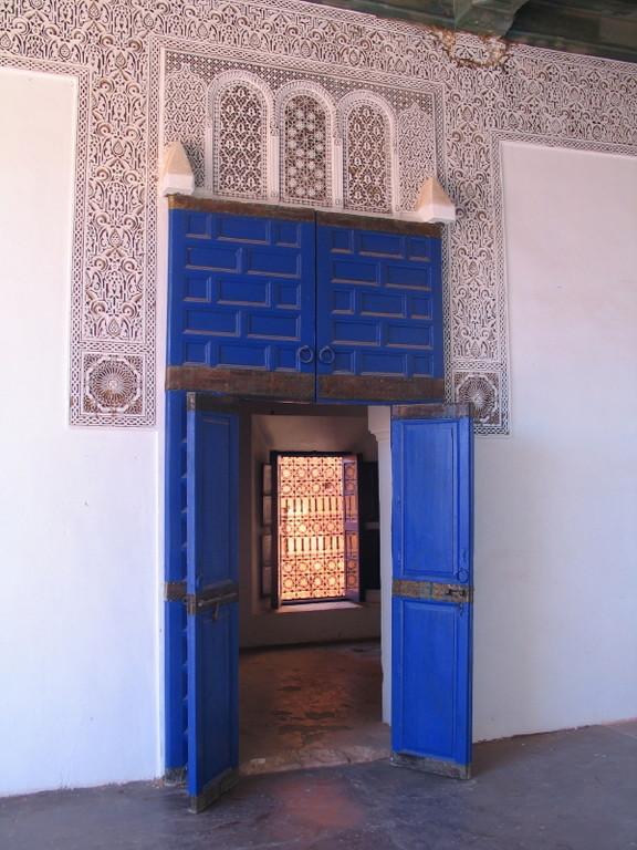 Farbenfrohe Türen