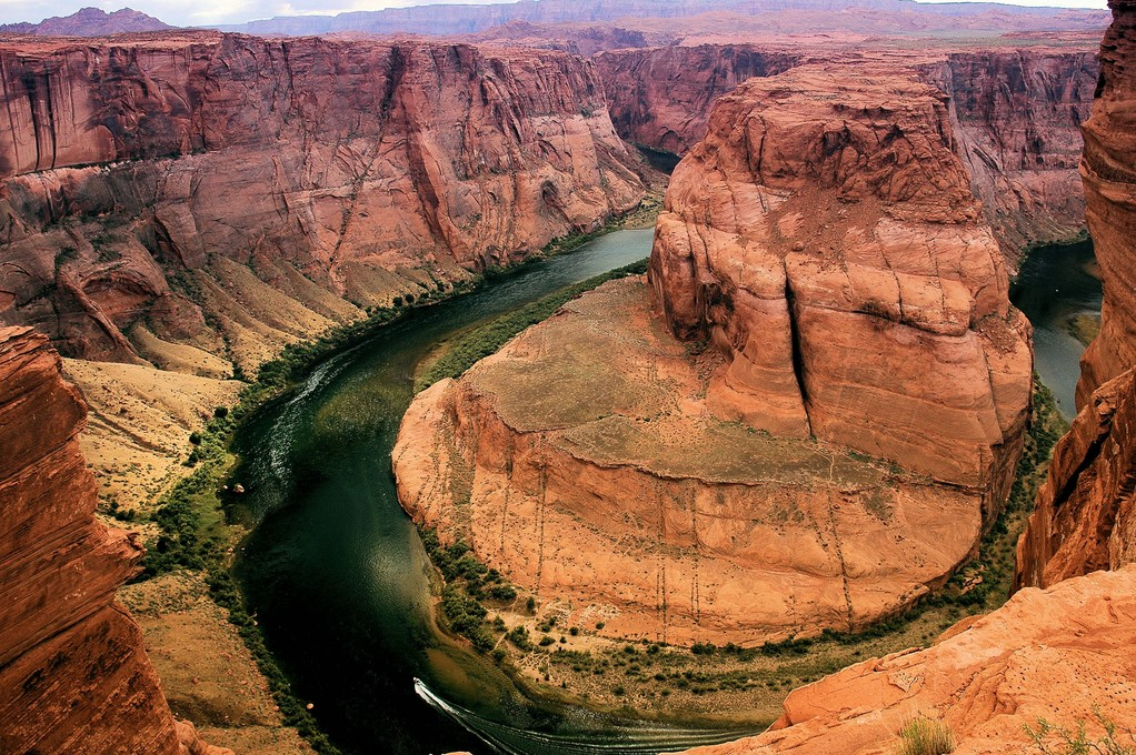 L' HORSESHOE BEND VICINANZE LAKE PAWELL - ARIZONA - STATI UNITI -
