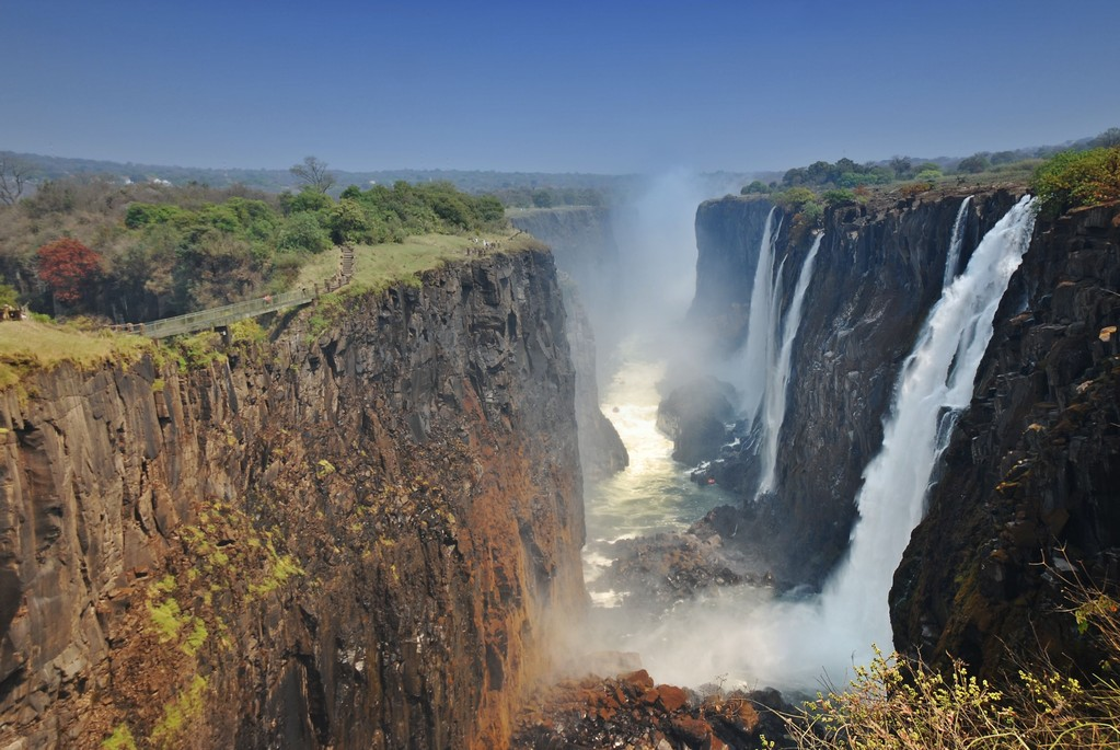 CASCATE VITTORIA - ZAMBIA -