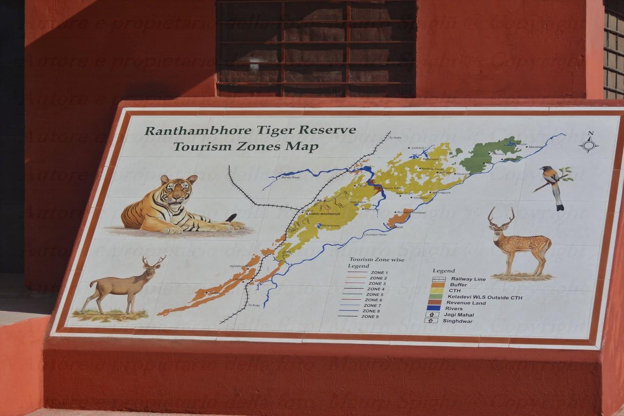 IL RANTHAMBHORE PARK DOVE E' POSSIBILE VEDERE LE ULTIME TIGRI INDIANE