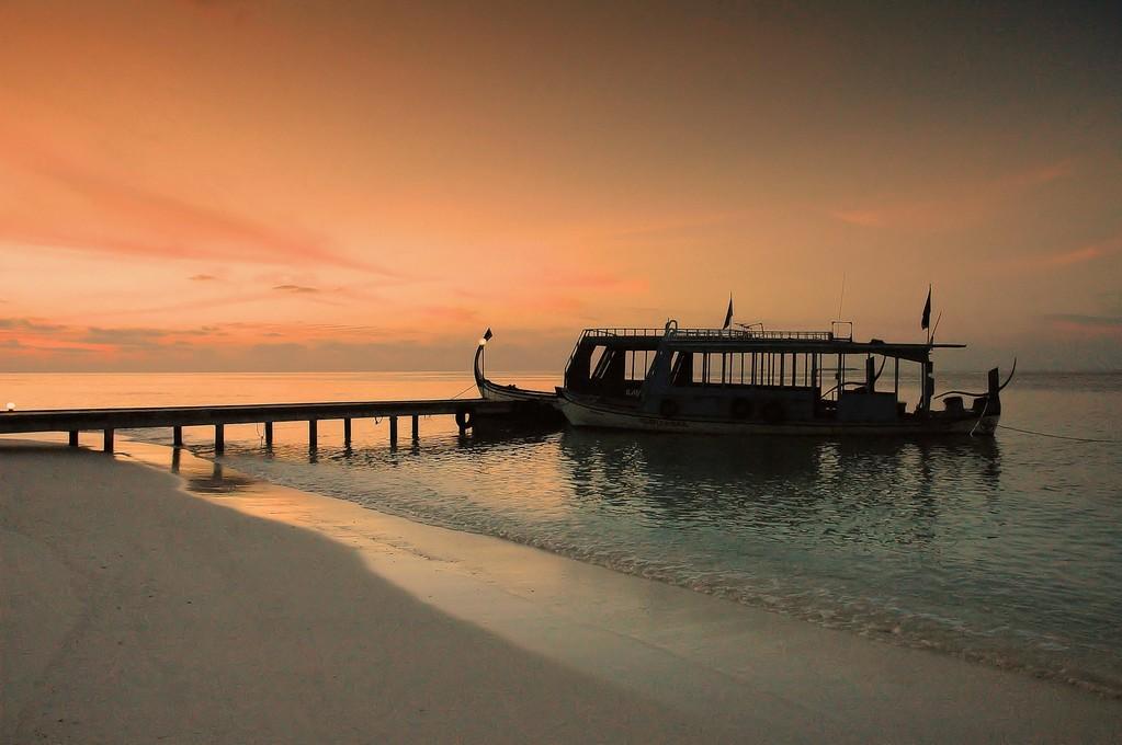 """"""" DONI """" IMBARCAZIONI  TIPICHE  MALDIVIANE - MALDIVE -"""
