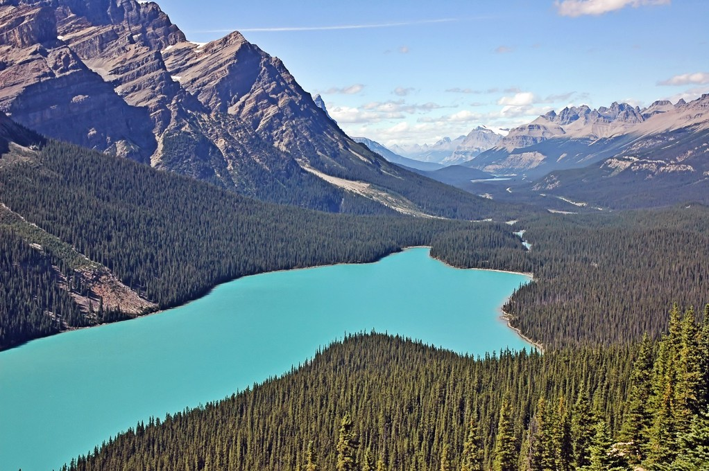 PEYTO LAKE - CANADA -