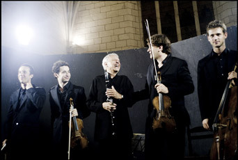 Michel Portal et le Quatuor Ebène