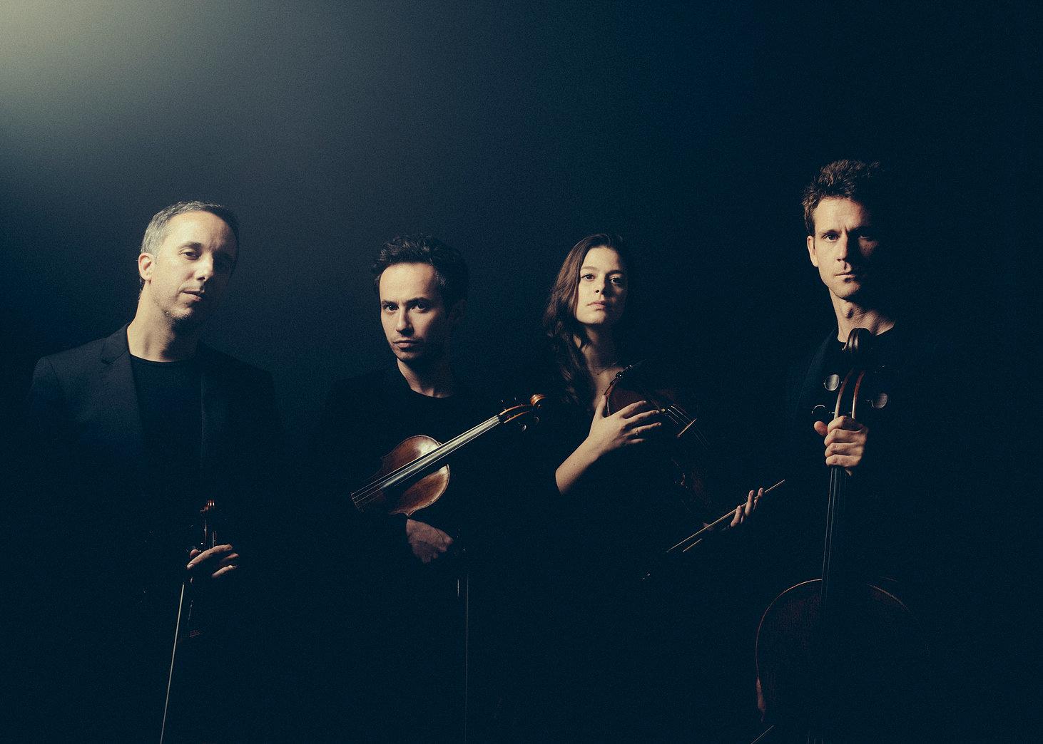 Quatuor EBENE (Pierre COLOMBET, Gabriel LE MAGADURE, Marie CHILEMME, Raphaël MERLIN)