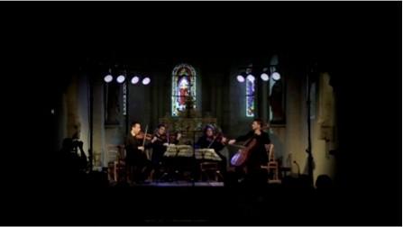 Film 10:30 mn / Quatuor Ebène - Ravel - Les Chaises Musicales 2013