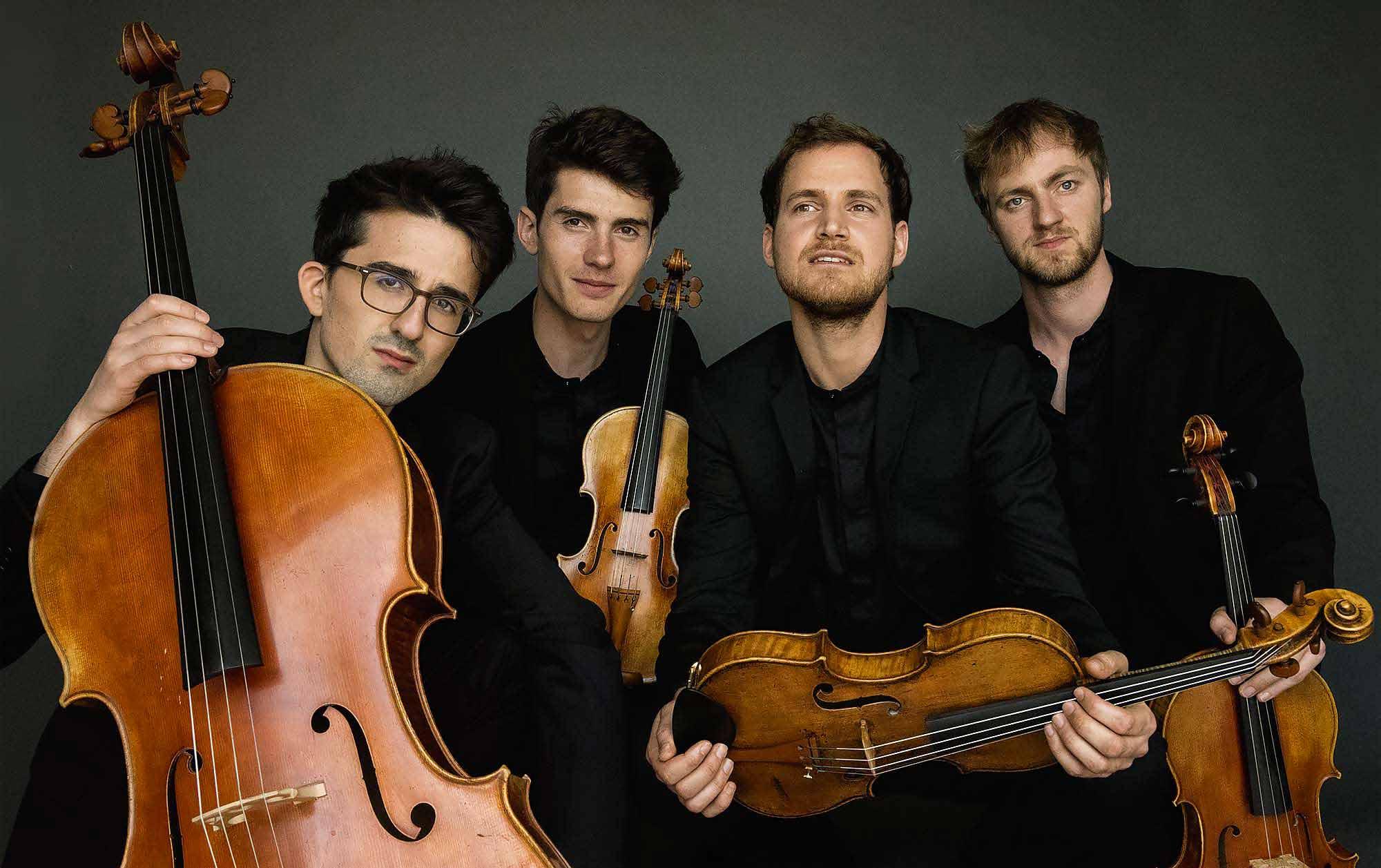Quatuor AGATE (Simon IACHEMET, Raphaël PAGNON Adrien JURKOVIC, Thomas DESCAMPS)