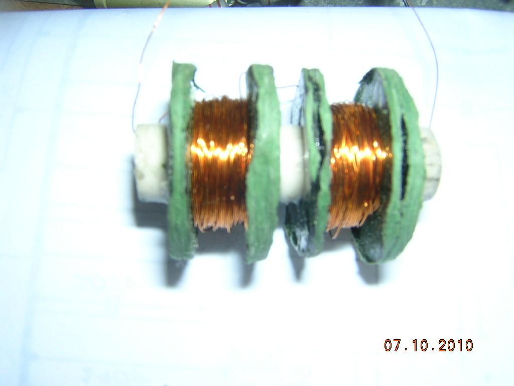 bobina di blocco alta frequenza