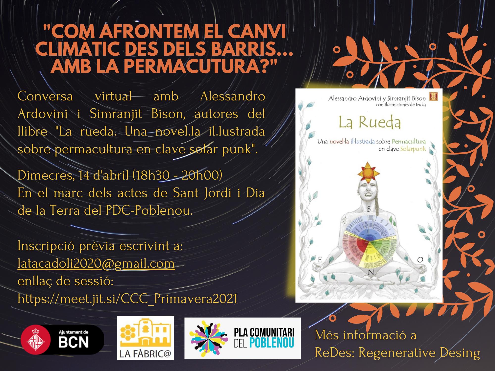 """[CCC-Primavera]: """"La rueda. Una novel.la il.lustrada sobre permacultura en clave solar punk"""""""