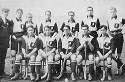 Der UHC für Deutschland bei Olympischen Spielen 1908 in London