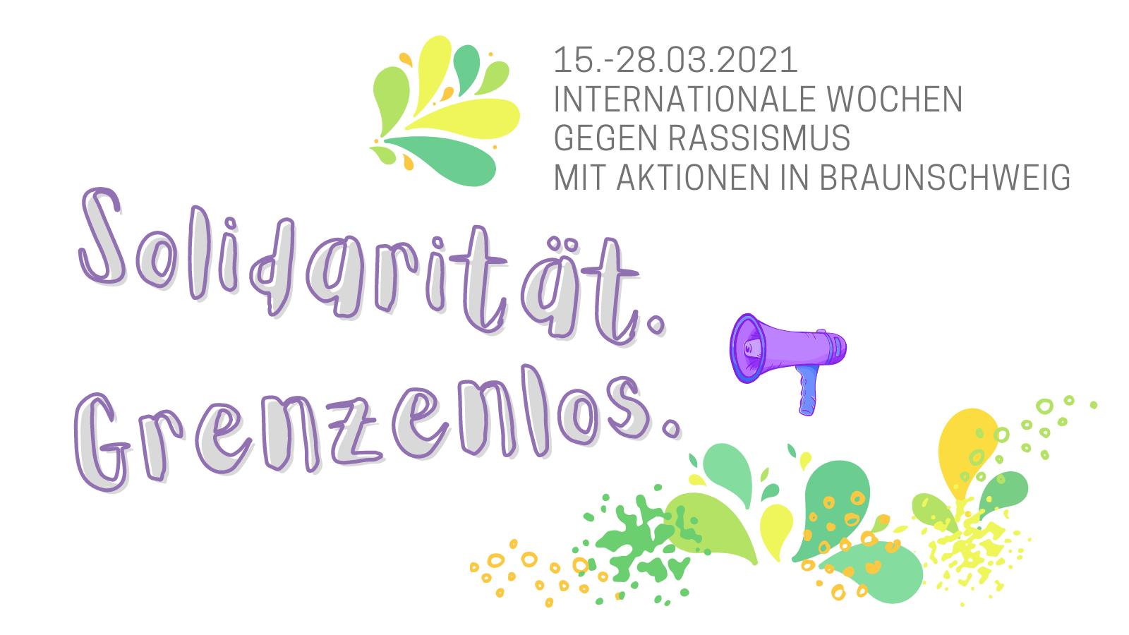 """""""Freiheit! Vielfalt! Solidarität! Emanzipation!"""" - 27.03., 14 Uhr, Schlossplatz: Zeichen setzen gegen Rechts"""