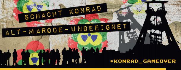Schacht Konrad - alt - marode- ungeeignet
