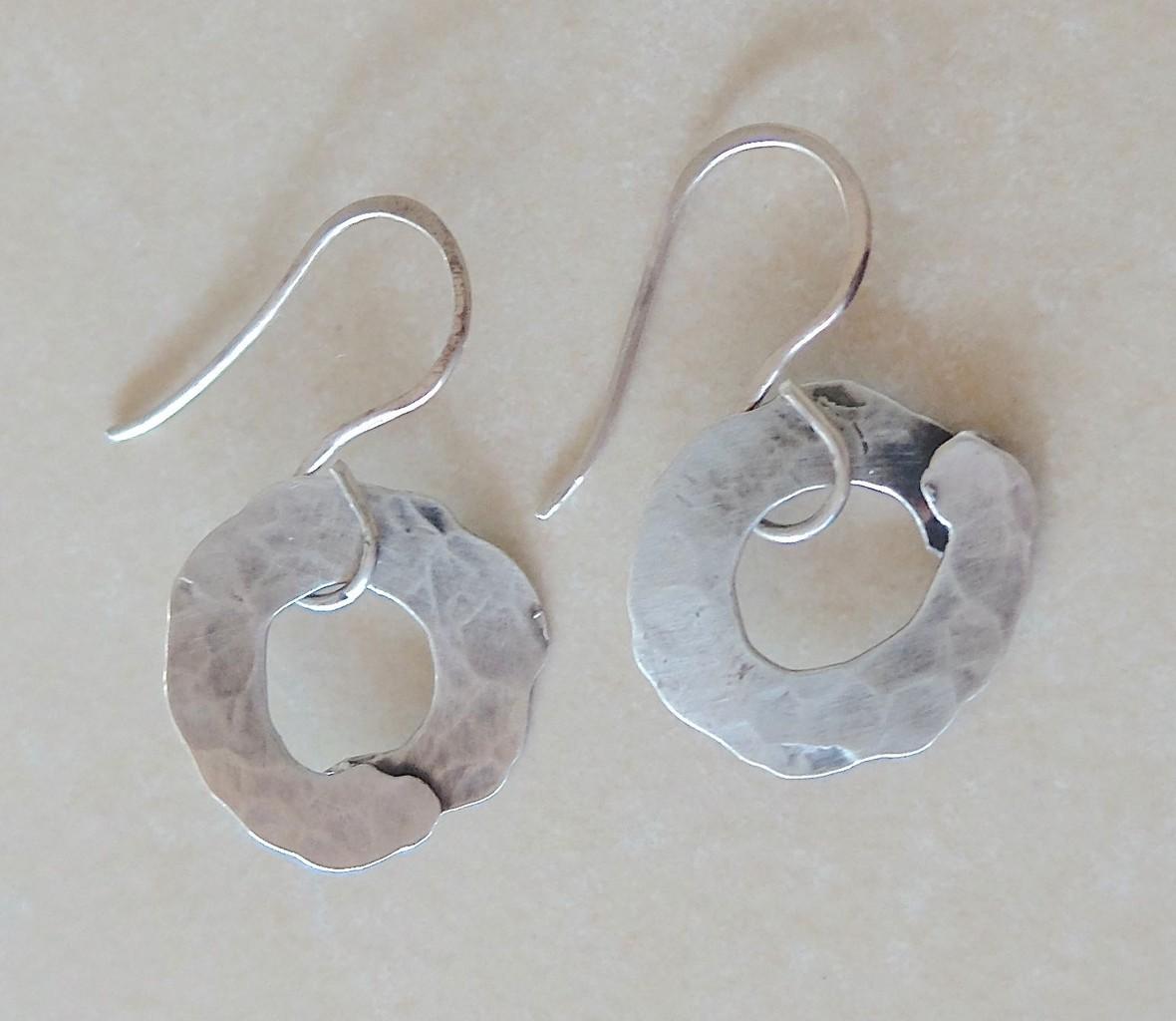 Silber/Ohrringe/Metall - Freistil-Manufaktur