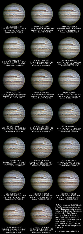 Jupiter images 9/13/12