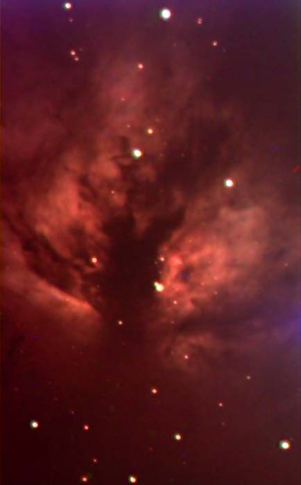 Flame Nebula in Orion