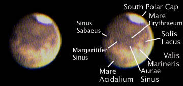 Mars, 4:42 am July 25, 2003