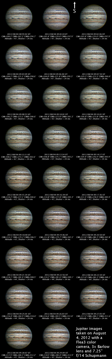 Jupiter August 4, 2012