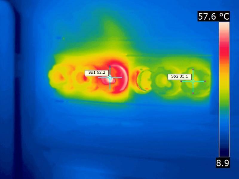 Thermisch auffällige Schraubsicherung mit Kontaktproblem