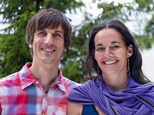 Didier Repp und Susanne Eicher, Schulleitung naturopath