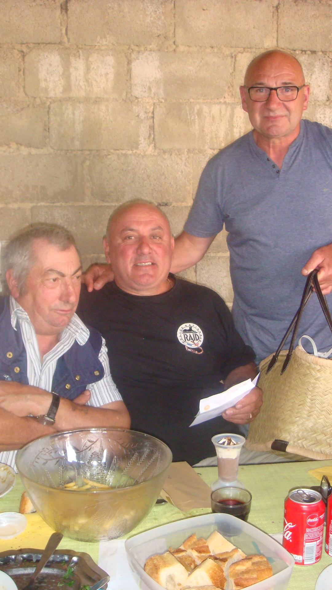 Poids du panier : 9,700 Kg remporté par Mr Mango Marc de Vieux Pont